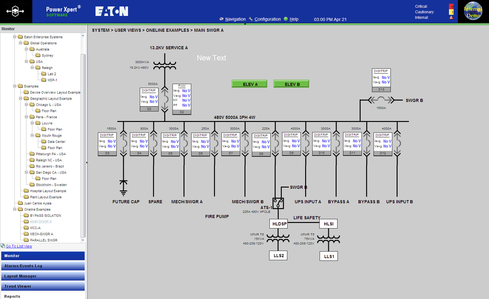 Software Power Xpert Professional Plant Electrical Layout Layoutplant